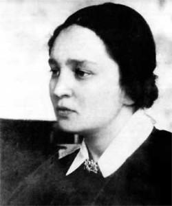 Maria Yudina da giovane